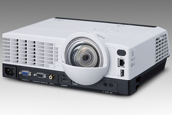 The Ricoh PJ WX4240N is very similar to the WX3340N; the main difference is this is a short throw model. (Image source: Ricoh.)