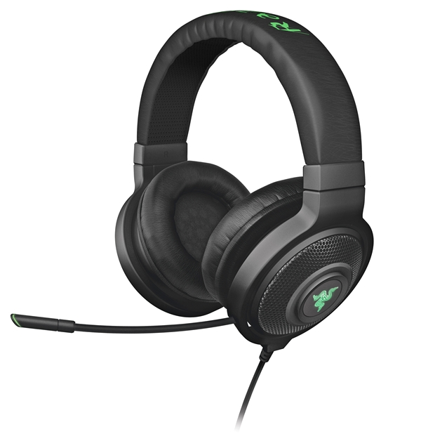 The Razer Kraken 7.1 USB surround sound gaming headset. (Image Source: Razer)