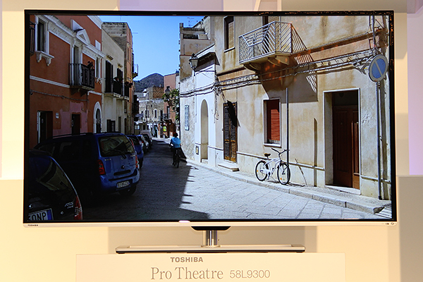 The Toshiba Pro Theater L9300 series 4K UHDTVs will come in two sizes for the ASEAN markets: 58 and 84 inches.