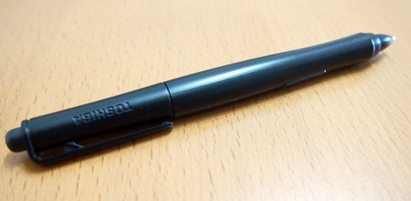 Toshiba's TruPen functions like a pen(cil). We will explain more in the software section.