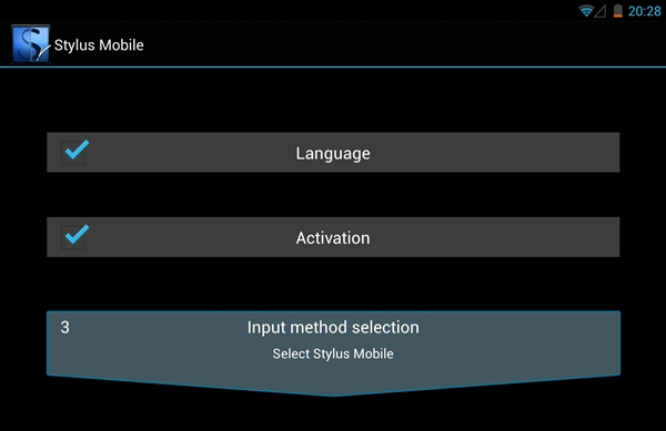 Setting up Stylus Mobile takes less than 10 seconds.