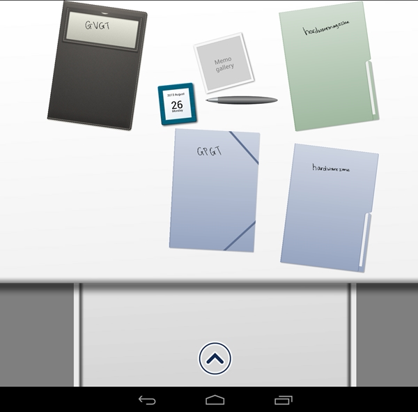 You can arrange your note folders according to title, cover and template.