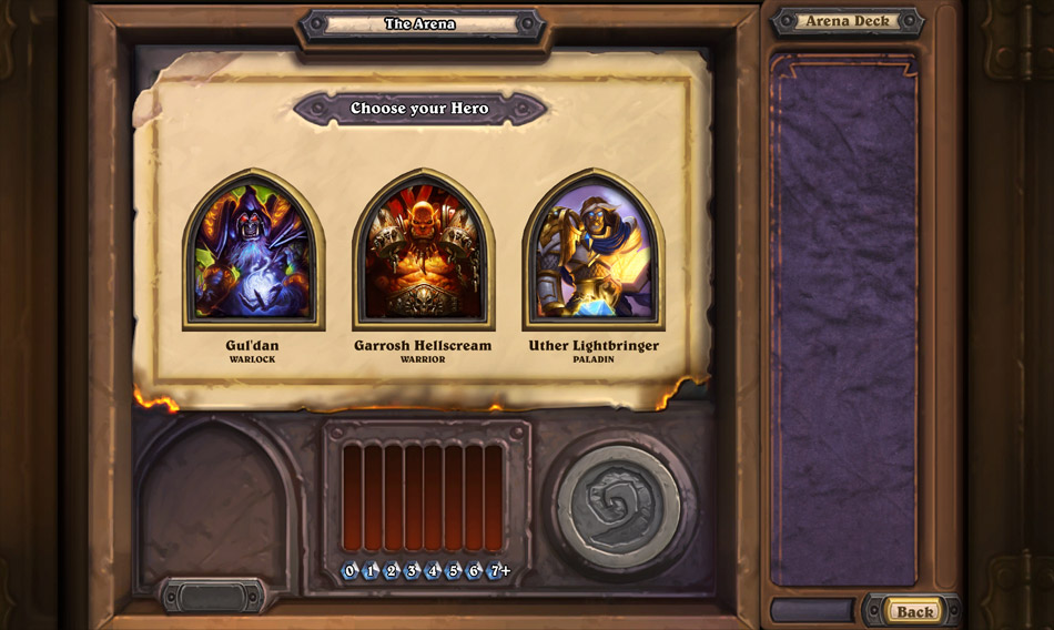 In Arena Mode, your deck building skills will be put to the test.