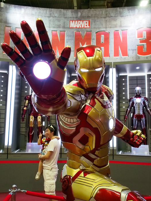 If you're heading down you definitely shouldn't miss the life-sized Iron Man Hall of Armor.