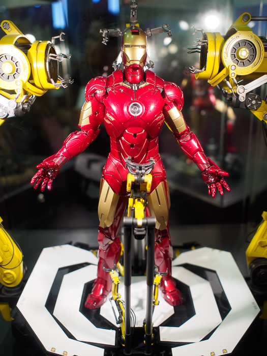 Good news for Iron Man fans - he's definitely the star of STGCC this year - so so many figures of him, so little money.