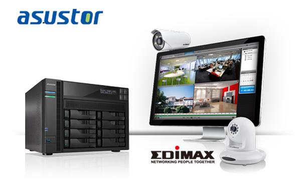 ASUSTOR and Edimax, combining forces to make your area a safer place