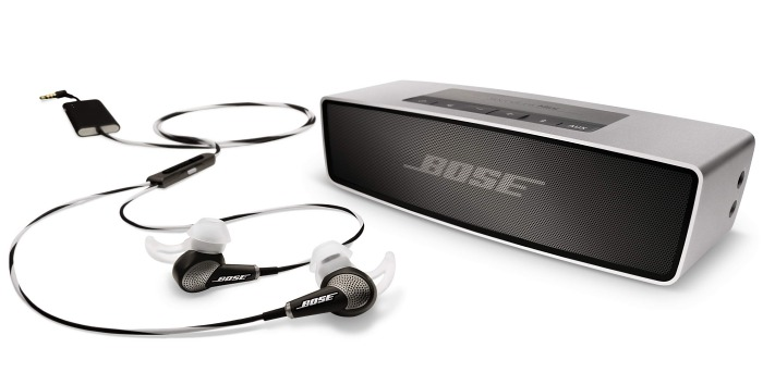 Today, the Bose QuietComfort 20 earphones and Bose SoundLink Mini Bluetooth speaker products are officially launched.