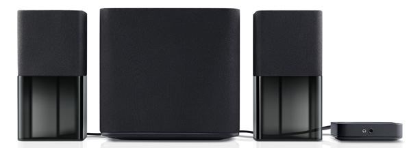 The simple three-piece Dell AC411 is a new 2.1-channel speaker system on the market for users to check out.
