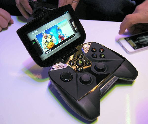The NVIDIA Project Shield.