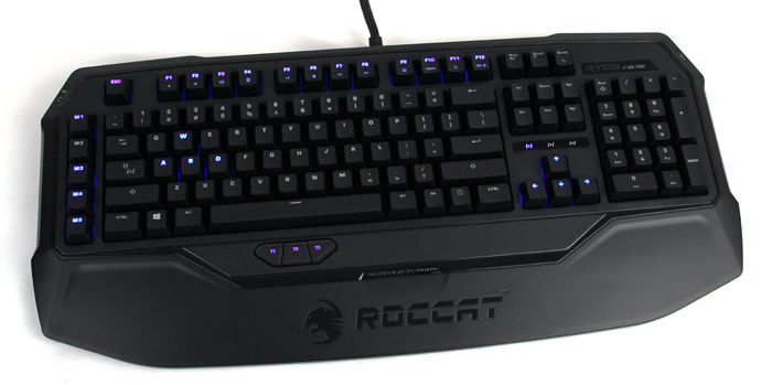 The Ryos MK Pro is Roccat's first mechanical keyboard