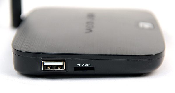 To the left, there is an additional USB 2.0 port and a microSD card reader that supports up to 32GB SDHC.