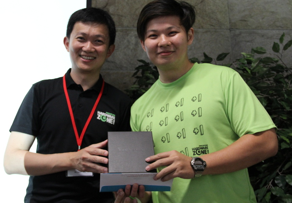 The happiest person at the event got to be the first prize winner, who walked away with a 3D/2N stay in a Chatrium Club Suite One Bedroom Riverview (thanks to Asiawebdirect!) at the Chatrium Hotel Riverside Bangkok for two, as well as a Raymond Weil Jasmine watch.