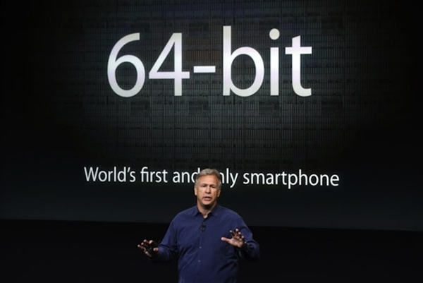 The Apple iPhone 5S is the world's first and only smartphone at the moment to be powered by a 64-bit processor.