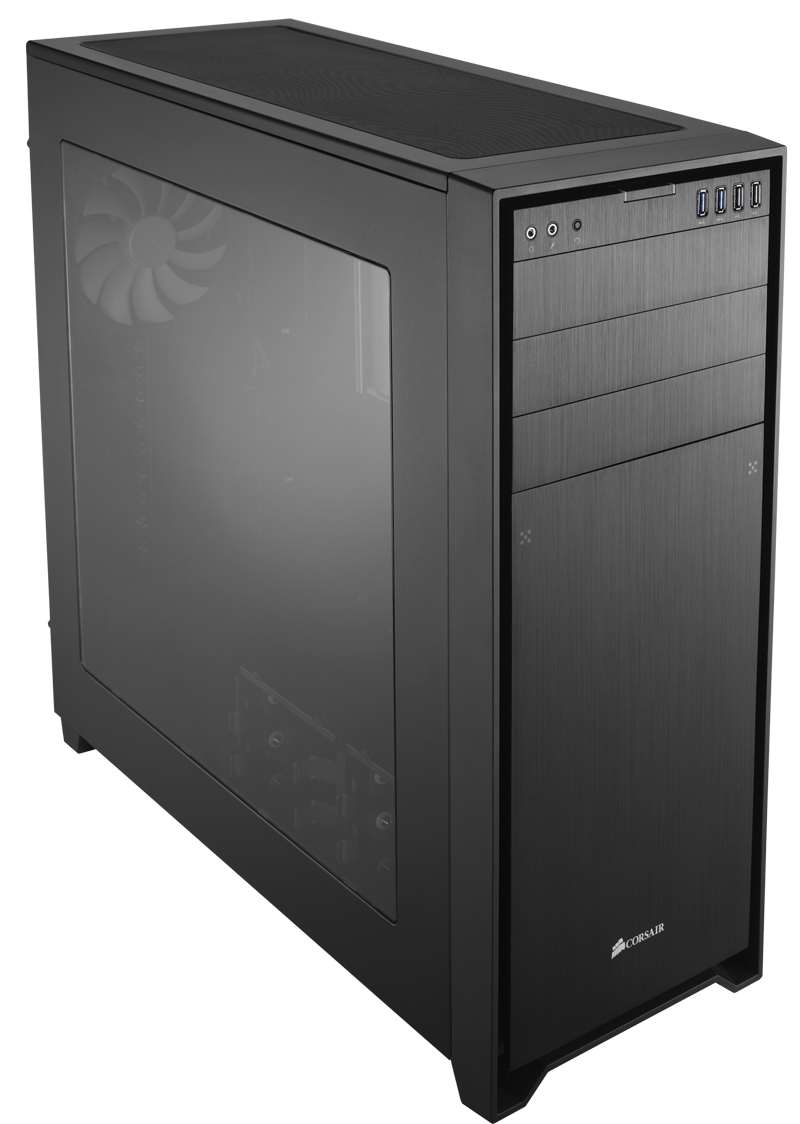 The latest addition to Corsair's Obsidian Series, the 750D.