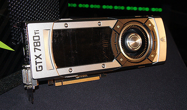 The GeForce GTX 780 Ti uses a cooler that's similar to the one found on the flagship Titan.