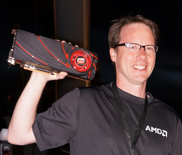 "Matt Skyner, Corporate VP & GM of Graphics Business Unit and AMD Canada GM, proudly showed the media of the next discrete graphics card that will carry on AMD's heritage and commitment to gaming. It is said to be based on the R9 290X ""Hawaii"" GPU core."