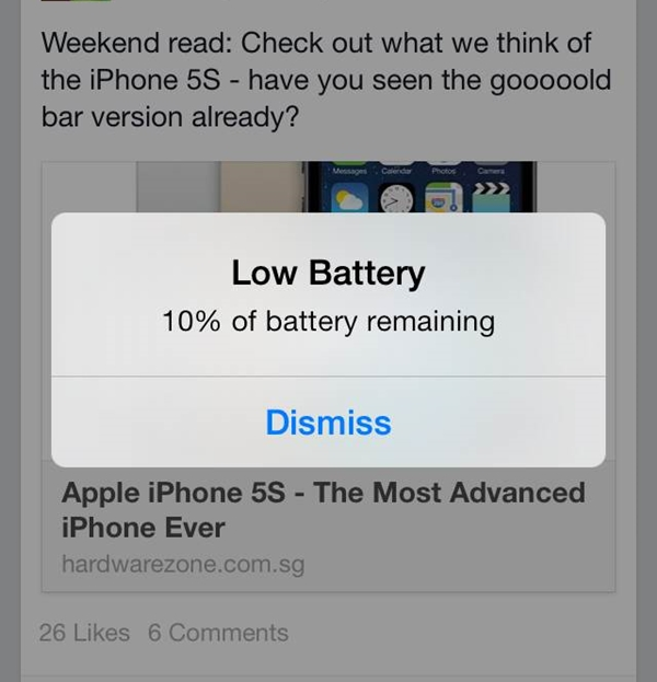 Having problems with the battery life of your iOS device?