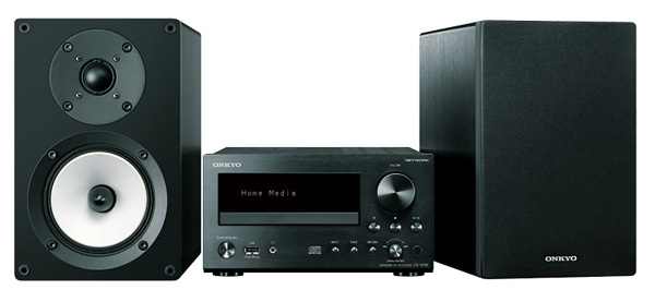 The Onkyo CS-N755 is a Mini Hi-Fi System which has internet connectivity options such as streaming and radio.