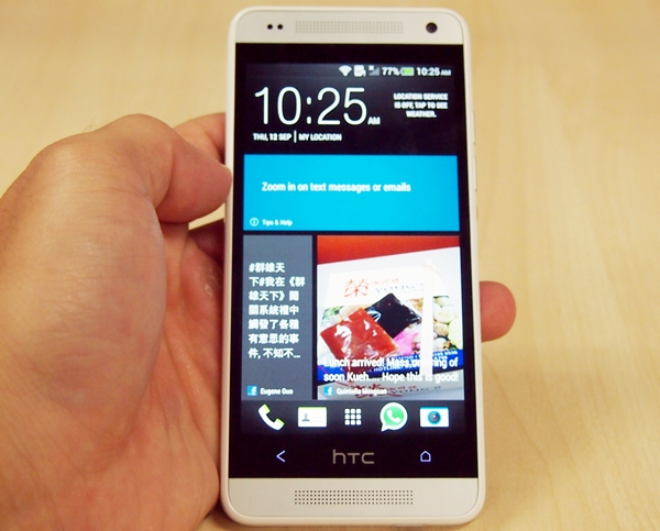 The HTC One mini is a capable compact smartphone, but let down by its limited internal storage capacity.