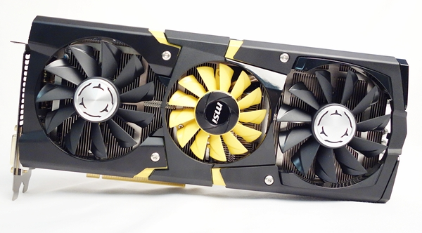 "The MSI N780 Lightning card boasts of a 20-phase power design, and a TriFrozr thermal design that consists of a triplet of cooling fans with an ""independent control system."""