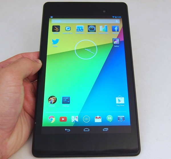 The Google Nexus 7 (2013).