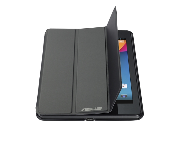 The premium cover for the Nexus 7 does reminds us of Apple's Smart Cover for the iPad. <br> Image source: ASUS