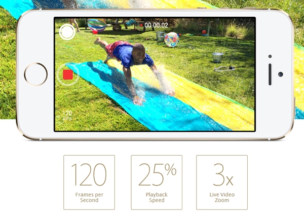 The slo-mot and live video zooming may be minor features, but they certainly improve the overall camera user experience on the Apple iPhone 5S.