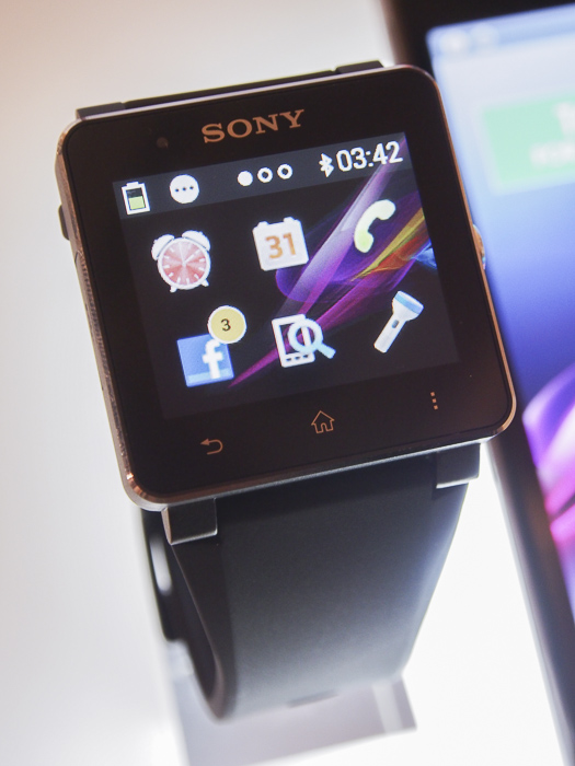 The SmartWatch 2 responds quite well to touch.