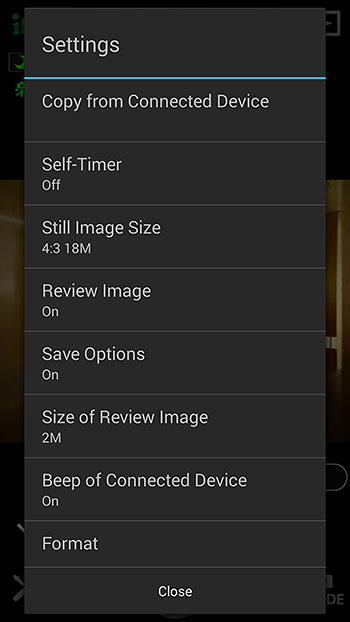 Here are the settings you can adjust, from self timer and image size, to size of review images and formatting of the memory card.