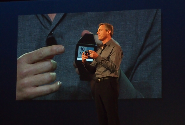 Paul Jacobs, Chairman and CEO of Qualcomm announced the Toq smartwatch at its annual Uplinq Conference.