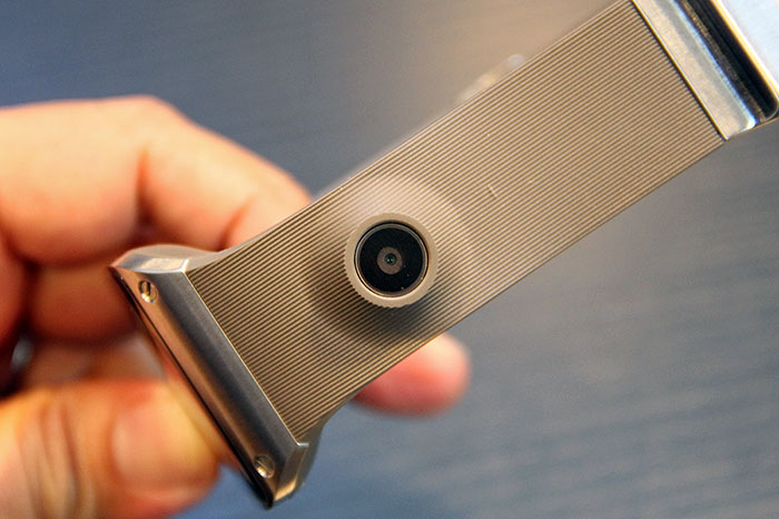 And a couple of inches away is the 1.9MP camera.