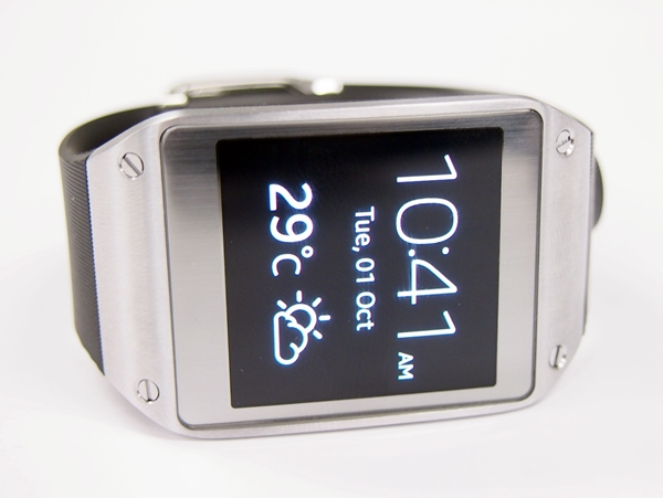 If only Samsung can add this premium finish of the Galaxy Gear to its smartphones and tablets ...