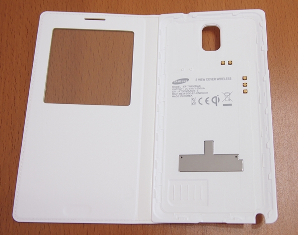 This is the S View Cover Wireless for the Galaxy Note 3.