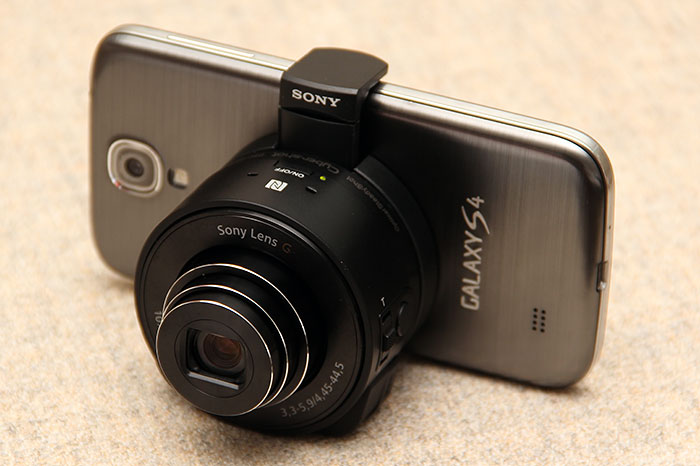 Boom - your smartphone is now a premium 18MP camera with 10x optical zoom!