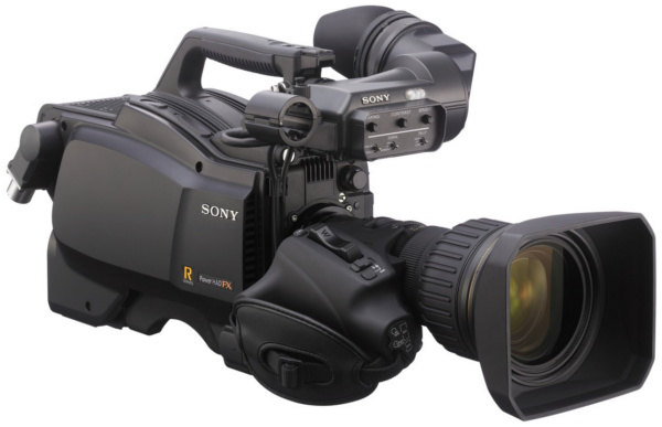 HSC-300RF studio camera.