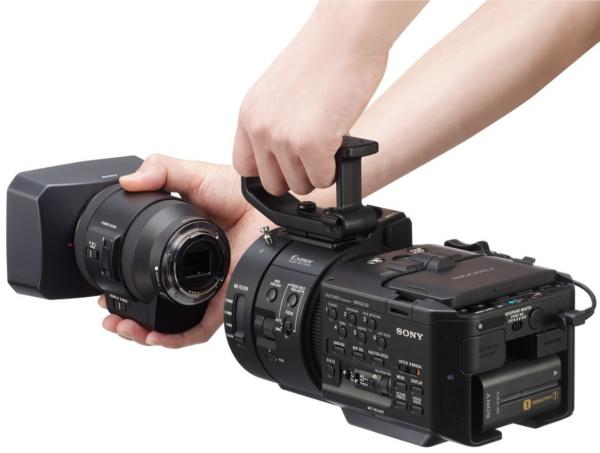 NEX-FS700RH NXCAM camcorder.