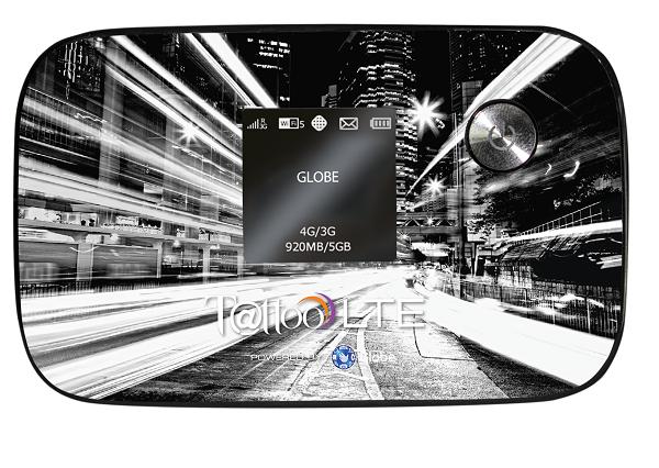 Globe Telecom Prepaid LTE Mobile Wi-Fi Device