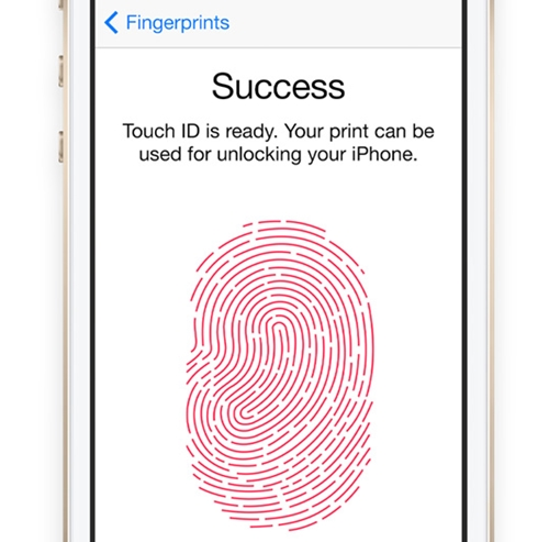 Touch ID makes it unnecessary for users to set passcodes and enables faster transactions on the iTunes ecosystem without having to key in passwords. <br> Image source: Apple