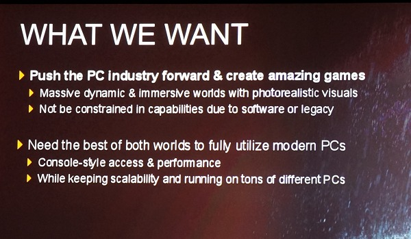 The fundamental reason why the AMD Mantle API initiative was pushed ahead.