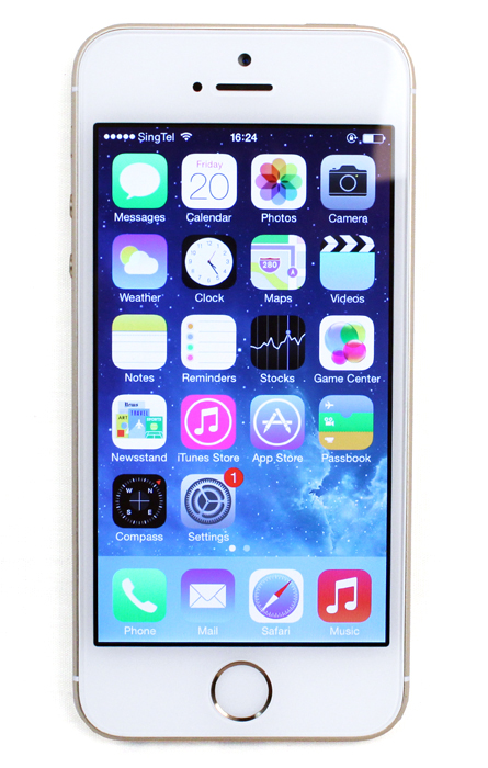 Is it time for Apple to introduce a larger display size? Maybe, but it won't be for the 5s.