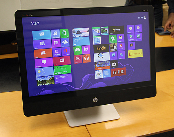 The HP Envy Recline23 is one of the first desktop AIOs we have seen to be equipped with Intel's new fourth generation Core processor.