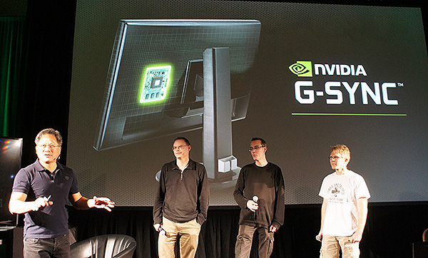 Gaming luminaries such as Tim Sweeney, Johan Andersson and John Carmack are enthusiastic about NVIDIA's new G-Sync technology.