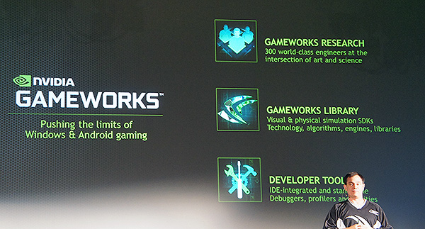 With GameWorks, NVIDIA wants to advance graphics technologies and experiences.