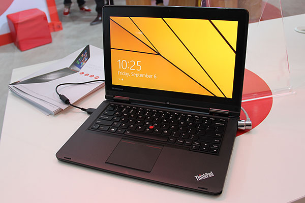 Business users who loved the Yoga design will be delighted with the new ThinkPad Yoga, which also comes with an optional stylus and the usual bright red pointer.