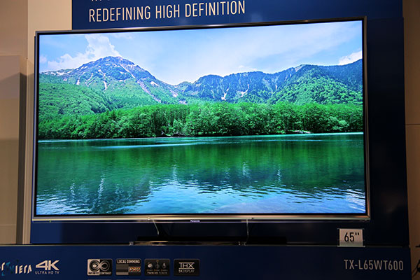 panasonic s 65 inch 4k uhdtv is ready for hdmi 2 0 55 inch oled