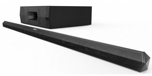 Sony HT-ST3 sound bar. (Image source: Sony.)