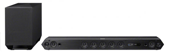 Sony HT-ST7 sound bar. (Image source: Sony.)