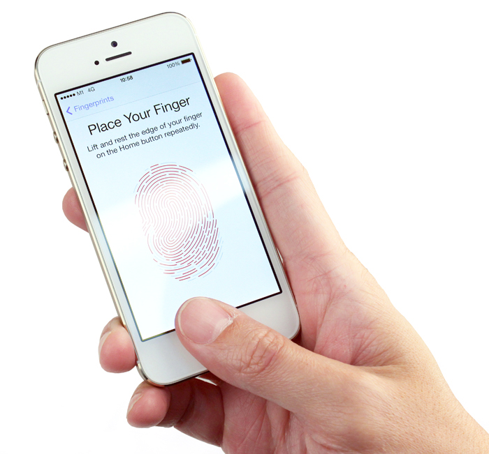 Setting up the Touch ID scanner takes less than a minute.