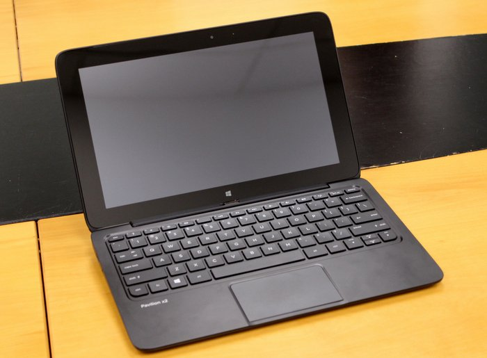The HP Pavilion11 X2 is a Windows 8 hybrid PC running a Bay Trail (Atom) processor, with a detachable display that can be used as a tablet when removed from its dock.