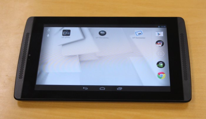 The HP Slate7 Extreme is a 7-inch Android tablet, running the latest NVIDIA Tegra 4 mobile processor.
